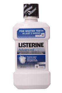 Listerine Advanced White 250 мл Вода за Уста