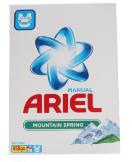 ARIEL 3D ACTIVES MOUNTAIN SPRING ПРАХ ЗА РЪЧНО ПРАНЕ  0.450КГ.