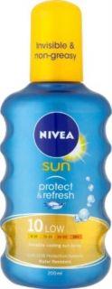 Nivea Protect & Refresh SPF 10  Слънцезащитен спрей 200мл