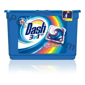 Dash 3in1 Salva Colore 36 Капсули