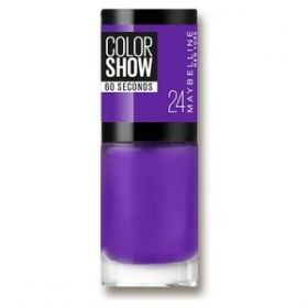 Maybelline Color Show Лак за нокти 24 VERY VIOLET
