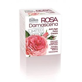Bilka ПОДМЛАДЯВАЩ Anti-Age КРЕМ ЗА ЛИЦЕ ROSA DAMASCENA 40ml