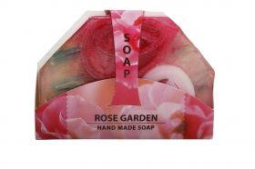 """Biofresh Ръчно изработен Глицеринов сапун """"Розова градина"""" 80 гр."""
