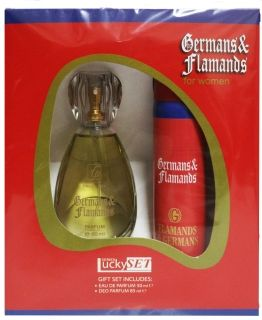 КОМПЛЕКТ FLAMANDS & GERMANS/ДАМСКИ/ EDP 50ml + DEO 85ml