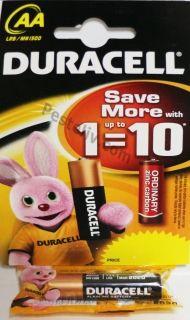 DURACELL  AA 1.5v