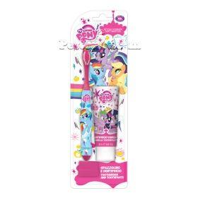 My Little Pony set Spazzolino четка за зъби + паста за зъби 25 мл.