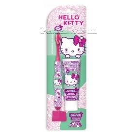 Hello Kitty  set Spazzolino четка за зъби + паста за зъби 25 мl.
