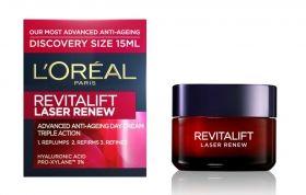 L'Oreal Revitalift Laser Renew Discovery Size 15 ml дневен крем за лице против стареене  на кожата