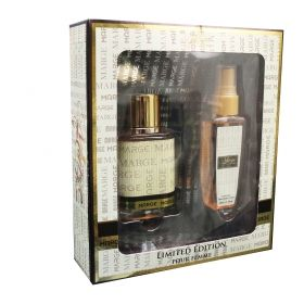 КОМПЛЕКТ  MB PARFUMS WOMAN  MARGE  EDP 50 ML+DET 50 ML SET LIMITED EDITION