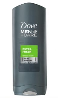Dove Men+Care Extra Fresh Душ гел за лице и тяло 250мл.