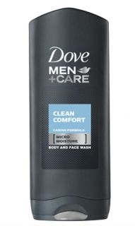 Dove Men+Care Clean Comfort душ гел за лице и тяло 250мл.