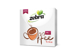 Zebra Coffee 40 бр 28*28 см