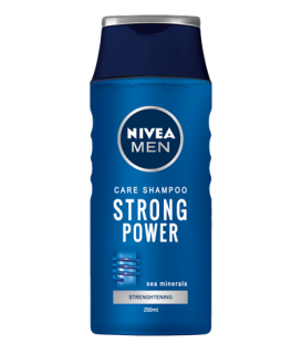 Nivea Men Care Shampoo Strong Power 250 ml