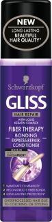 Schwarzkopf Спрей балсам за коса  без отмиване с OmegaPlex технология - Gliss Fiber Therapy 200мл.