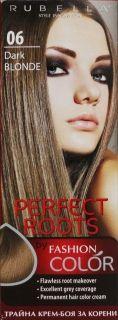 Трайна крем-боя за корени Rubella Perfect Roots-Тъмно русо