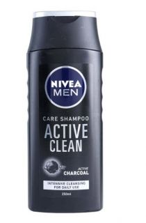 Nivea active clean shampoo 250 ml men