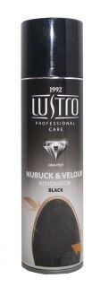 LUstro Nabuck & Velour Penovator Black спрей 200 ml