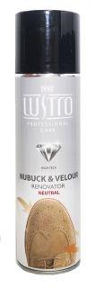 LUstro Nabuck & Velour Penovator Neutral  спрей 200 ml