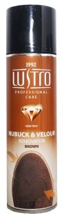 LUstro Nabuck & Velour Penovator Brown  200 ml