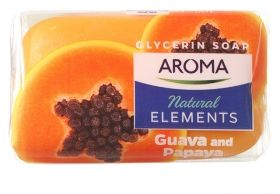 Сапун Aroma Natural Elements Guava&Papaya 100 гр.