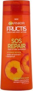 Garnier Fructis Sos Repair Възстановяващ шампоан за суха и увредена коса 400мл