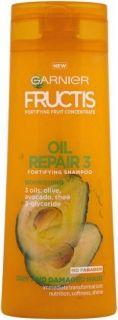 Garnier Fructis Oil Repair 3 Шампоан за суха и увредена коса с комплекс от 3 масла 400мл
