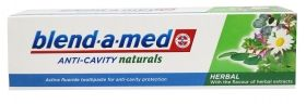 Blend-a-med ANTI-CAVITY Naturals Herbal  Паста за зъби 100мл