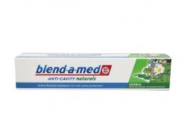 Blend- a- med Anti Cavity Naturals Herbal  паста за зъби 50ml