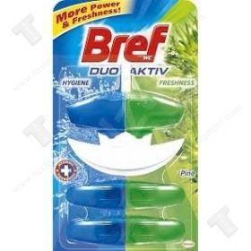 Bref WC Duo-Aktiv Ароматизатор за тоалетна чиния Caribbean Sensations Кошница 3Х60мл