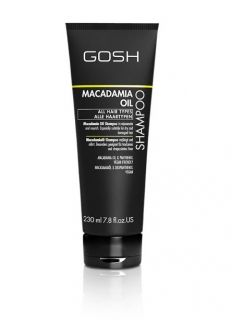 Gosh Shampoo Macadamia  oil  For all hair types 230 ml