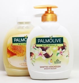 Palmolive Smooth Delicht Macadamia течен сапун 300мл +300 ml мед и мляко подарък