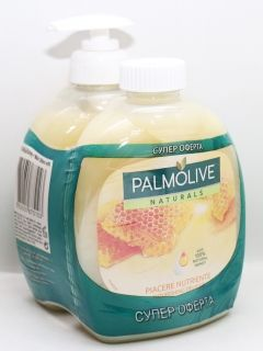 Palmolive Piacere Nutrinte  Touch течен сапун 300мл + 300 ml мед и мляко подарък
