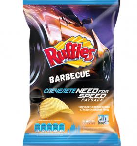 Ruffles картофен чипс Барбекю 80 гр.