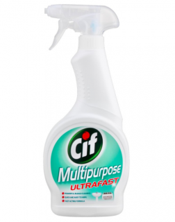 CIF Multipurpose Ultrafast 500 ml Универсален препарат с белина