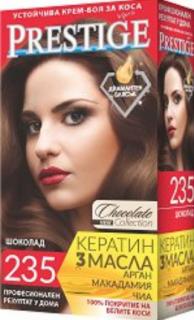 Vip's Prestige Устойчива крем-боя за коса №235 Шоколад