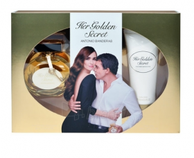 Antonio Banderas Her Golden Secret Тоалетна вода 80мл. +Лосион 100мл.