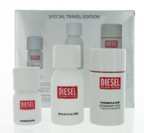 Diesel Plus Plus Masculine Special Travel Edition 3 Pcs Gfit Set