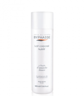BYPHASSE Nourishing Body Milk D`amande With Sweet Almond Oil For Dry Skin 500 ml Лосион за тяло за суха кожа 500 мл