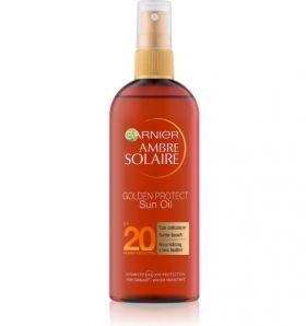 Garnier Ambre Solaire Golden Protect SPF 20 150ml Слънцезащитно олио  SPF 20