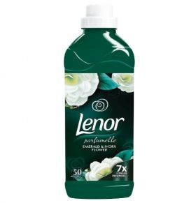 Lenor Parfumelle Emerald & Ivory Flower 1.5L 50 Washes Омекотител 1.5л