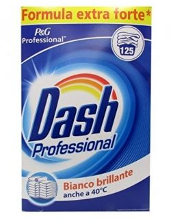 Dash Professional Bianco Brillante 8.125 kg 125 Washes Прах за пране