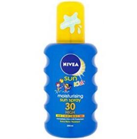 Nivea Sun Kids Moisturising Sun Spray SPF 30 200 ml Детски слънцезащитен спрей 200 мл