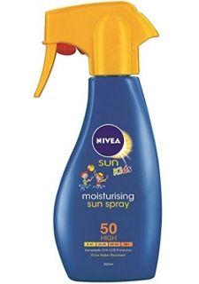 Nivea Sun Kids Детски Хидратиращ Лосион SPF 50-Много висока защита 200мл