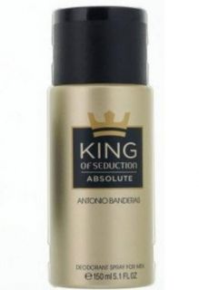 Antonio Banderas King of Seduction Absolute Deo Spray 150 ml Дезодорант за тяло 150 мл