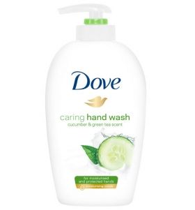 Dove Caring Hand Wash Cucumber & Green Tea Scent 250 ml Течен Сапун за ръце