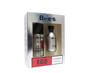 Bi - es Ego Platinum For Man Gift Set Мъжки комплект