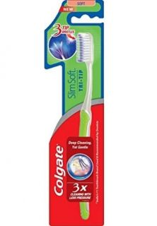 Colgate Slim Soft Tri - Tip Toothbrush Четка за зъби