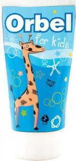 Orbel детска паста за зъби, жираф 65мл