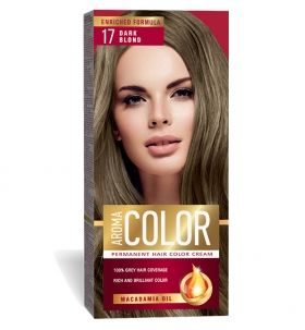 AROMA COLOR № 17 ТЪМНО РУС БОЯ ЗА КОСА