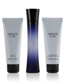 Armani Code Gift Set Подаръчен комплект за жени - 75 ml EDP + Shower Gel + 75 ml Body Lotion